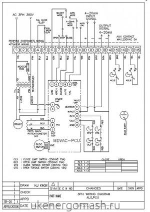 схема подключения NA150 SR