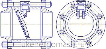 Клапан обратный ПФ 44003