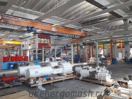 Производство пневматических приводов