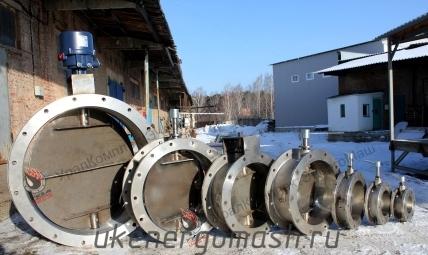 Клапаны из нержавеющей стали